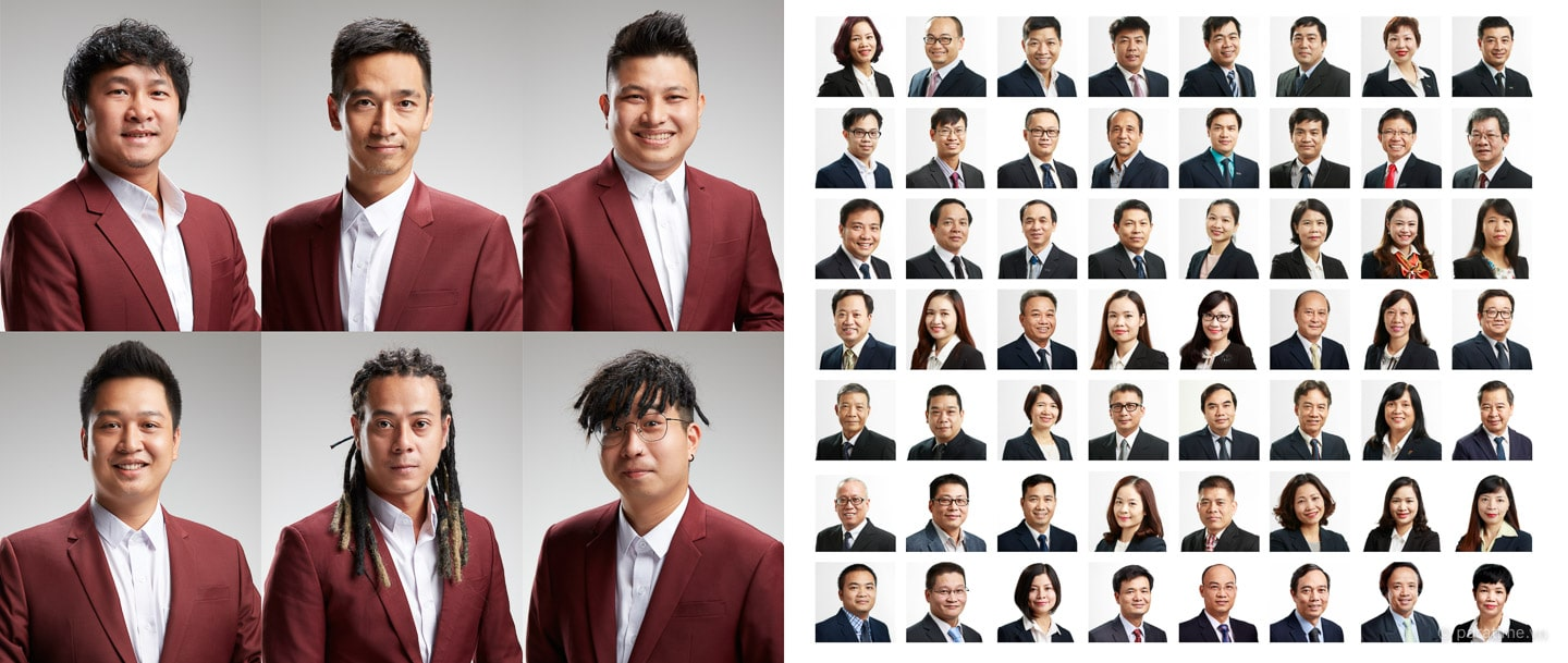 Corporate Portraits by Paratime Studio