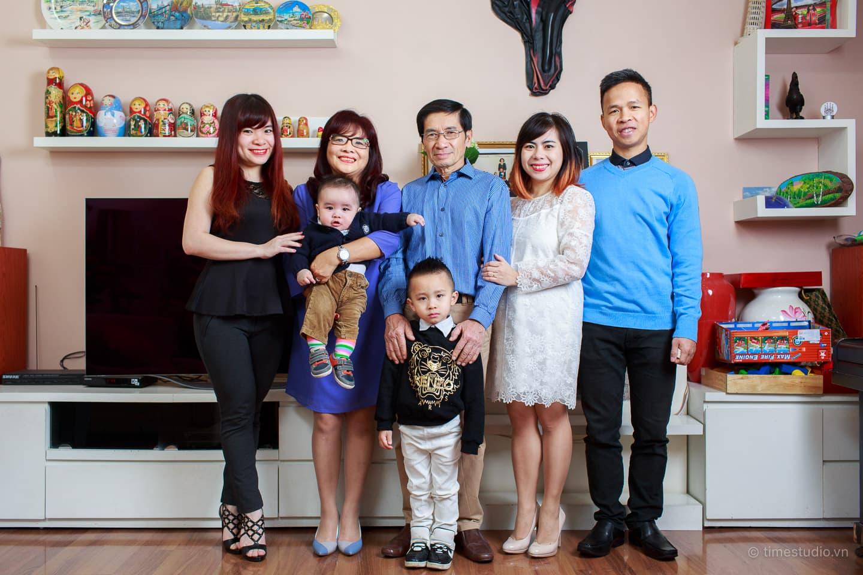 Ảnh tập thể gia đình