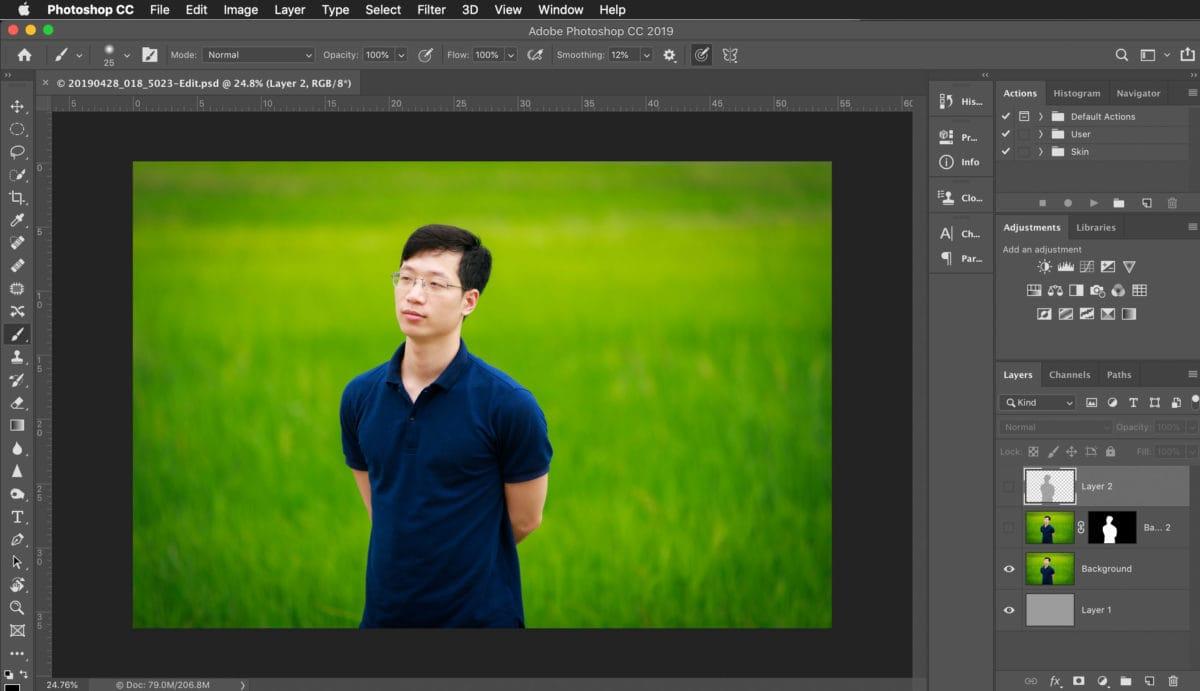 Tạo ảnh 3D cho Facebook từ ảnh bình thường | TIME Studio
