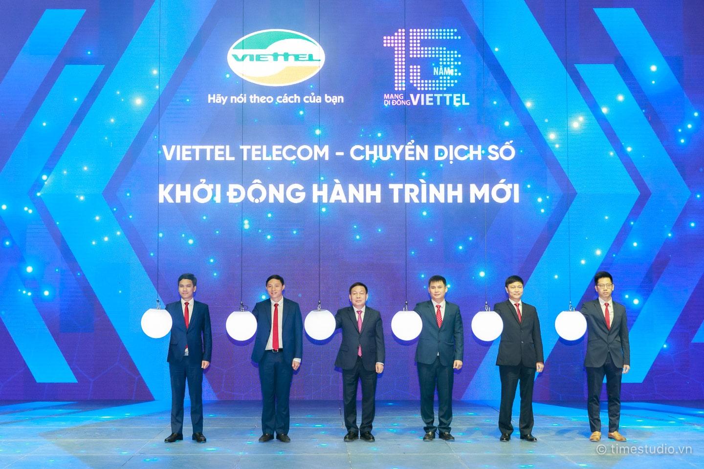 Viettel Telecom 15 năm