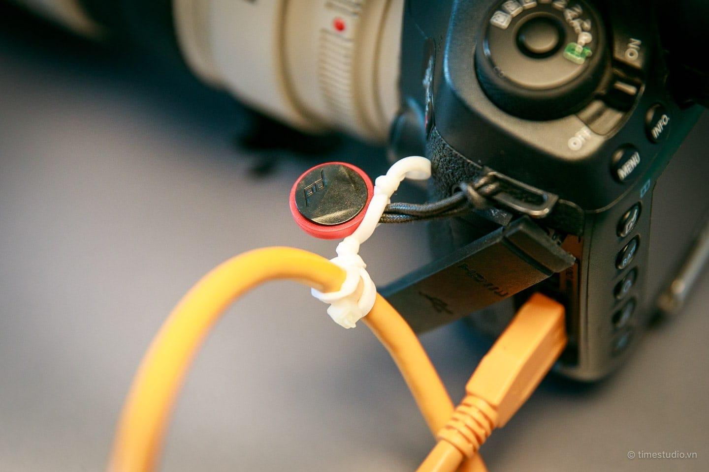 Chụp ảnh kết nối máy tính