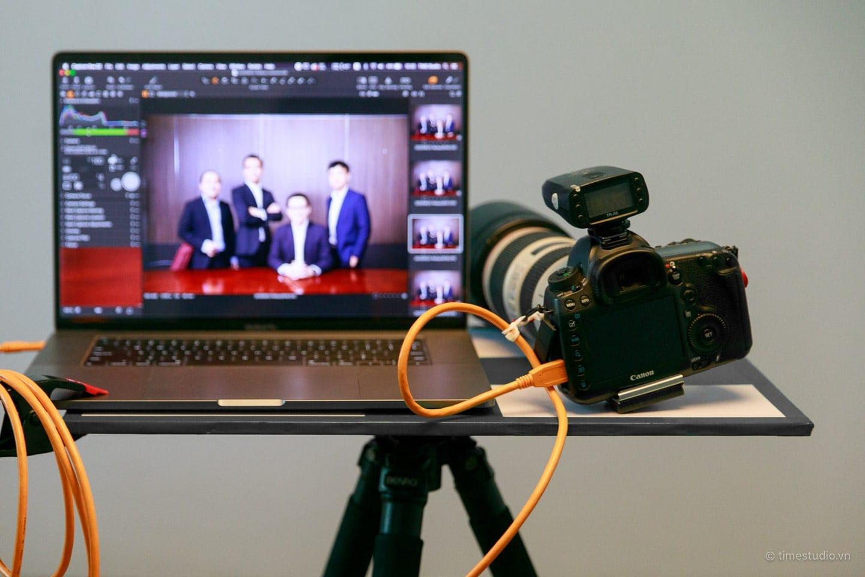 TIME Studio tethered shooting