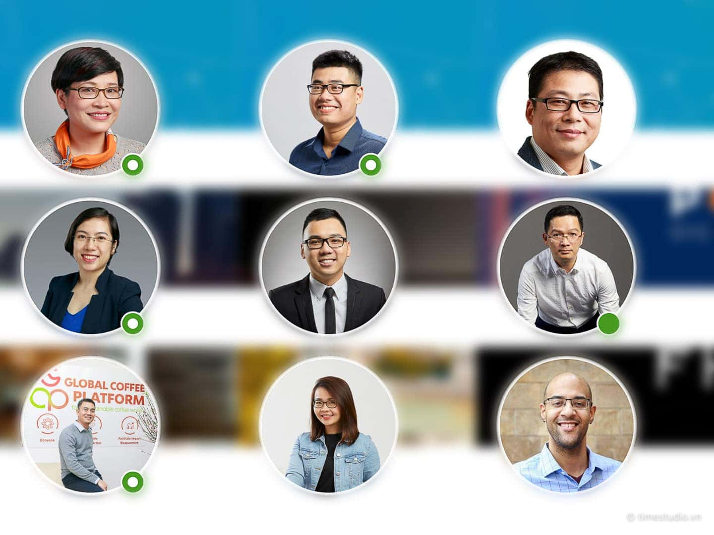 LinkedIn profile photos by Paratime Studio